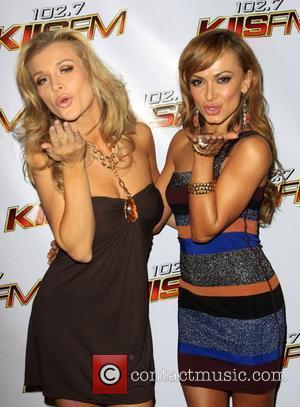 Karina Smirnoff and Joanna Krupa