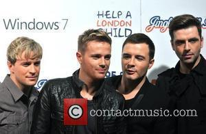 Westlife The Jingle Bell Ball held at the O2 Arena. London, England - 05.12.09
