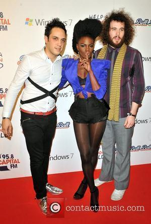 The Noisettes The Jingle Bell Ball held at the O2 Arena. London, England - 05.12.09
