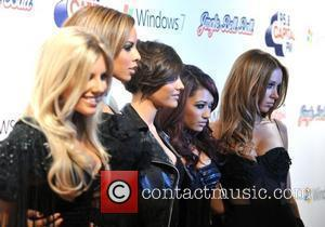 The Saturdays The Jingle Bell Ball held at the O2 Arena. London, England - 05.12.09