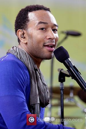 John Legend performs live on 'Good Morning America's Summer Concert Series' in Central Park New York City, USA - 05.06.09