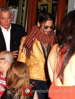 Johnny Depp leaves the Da Silvano restaurant New York City, USA - 25.06.09