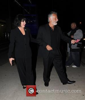 Jonathan Goldsmith and his wife Barbara Goldsmith leave Boa Restaurant and Lounge in Beverly Hills Los Angeles, California - 16.11.09