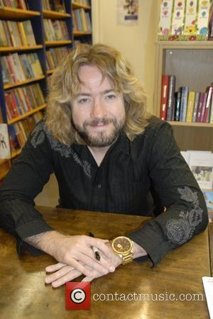 Justin Lee Collins signing copies of his new book 'Good Times' Chepstow, England - 25.09.09