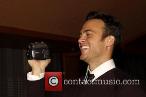 Cheyenne Jackson CD release party for 'Kate Baldwin Let's See What Happens' held at Bobby Flay's Bar Americain - Inside...