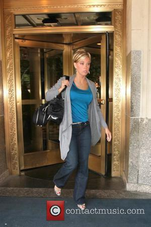 Kate Gosselin leaving her Manhattan hotel en route to ABC studios for her second day of co-hosting on 'The View'...