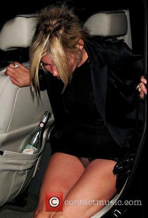 Kate Moss and James Brown