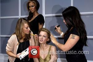 Tyra Banks and Kate Moss