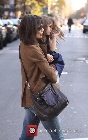 Katie Holmes and Daughter Suri Cruise