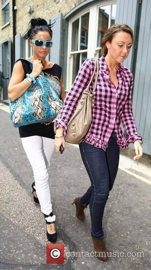 Katie Price and Michelle Heaton