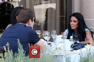 David Walliams and Katie Price aka Jordan enjoy lunch Los Angeles, California - 17.07.09