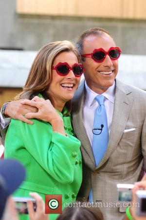 Meredith Vieira and Matt Lauer