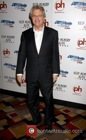 Jerry Springer Event for 'Americas Got Talent' benefitting Keep Memory Alive at the Planet Hollywood Hotel and Casino Las Vegas,...