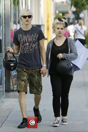 Kelly Osbourne and boyfriend Luke Worrall