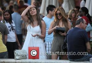 Kim Kardashian and Britney Gastineau