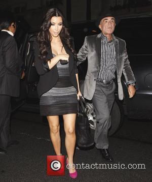 Kim Kardashian and Robert Shapiro