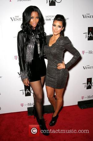 Ciara and Kim Kardashian