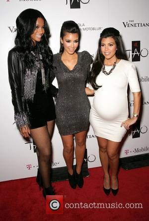 Ciara, Kim Kardashian and Kourtney Kardashian