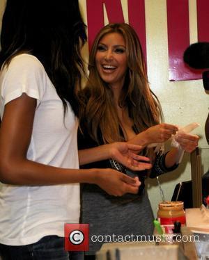 Kim Kardashian and Ciara