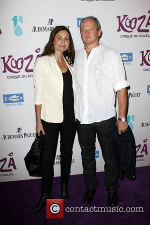 Minnie Driver with boyfriend Craig Zolezzi  attending KOOZA, the big top touring show from Cirque du Soleil which was...