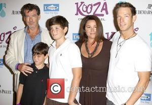 Pierce Brosnan, Wife Keely Shaye Smith and Kids