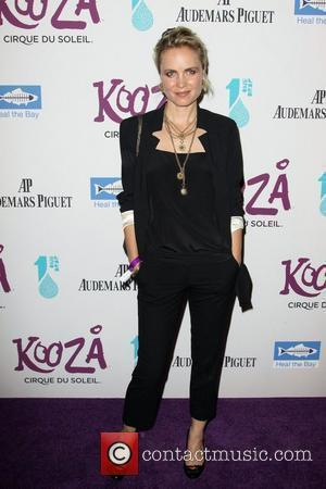 Radha Mitchell attending KOOZA, the big top touring show from Cirque du Soleil which was held at Santa Monica Pier...