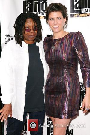 Whoopi Goldberg and Liz Gardner