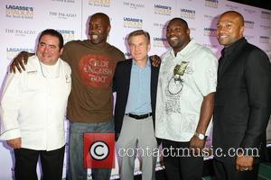 Emeril Lagasse and Gary Payton