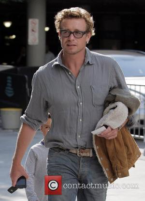 Simon Baker-Denny arrives for the first game of the NBA National Championship Tournament between the L.A. Lakers and Orlando Magic...