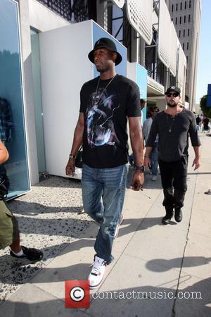 Lamar Odom LA Lakers basketball star, Lamar Odom seen shopping in Kitson on Robertson Boulevard. Los Angeles, California - 06.10.09
