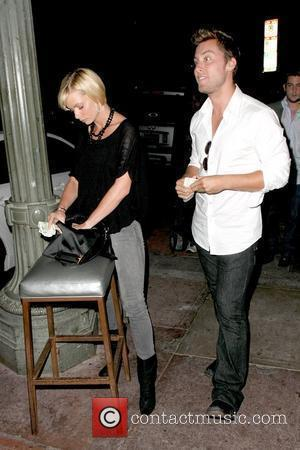 Jaime Pressly and Lance Bass