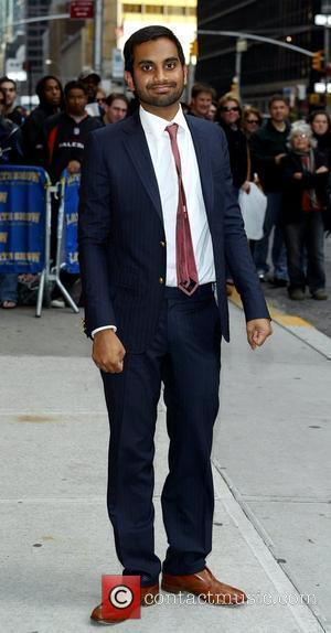 Aziz Ansari outside the Ed Sullivan Theater for the 'Late Show With David Letterman' New York City, USA - 13.10.09