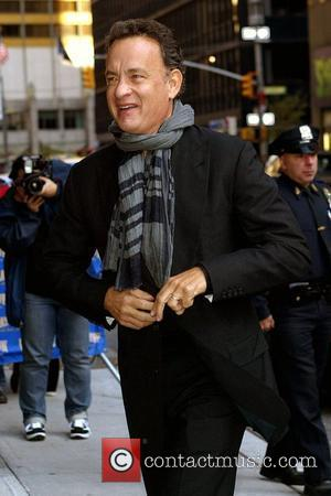 Tom Hanks and David Letterman