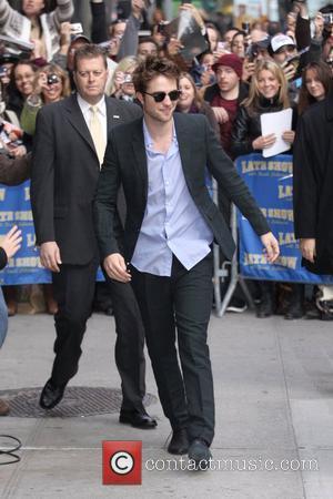 Robert Pattinson and David Letterman