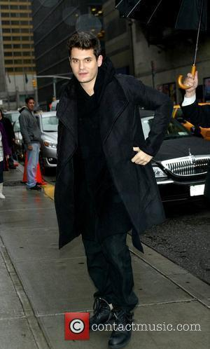 John Mayer and David Letterman