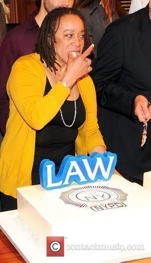 S. Epatha Merkerson 'Law & Order' 20th season kickoff celebration at the 'Law & Order' studio at Chelsea Piers...
