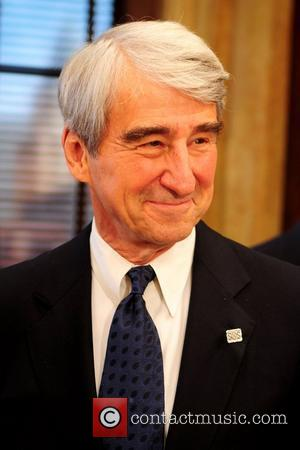 Sam Waterston 'Law & Order' 20th season kickoff celebration at the 'Law & Order' studio at Chelsea Piers  New...