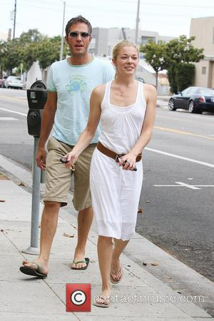 Leann Rimes and A Friend Pick Up Coffee In Santa Monica