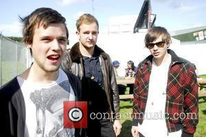 White Lies The 2009 Leeds Festival - Day 1 - Backstage Leeds, England - 28.08.09