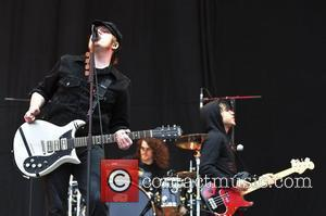 Patrick Stump and Pete Wentz of Fall Out Boy  The 2009 Leeds Festival - Day 3 Leeds, England -...