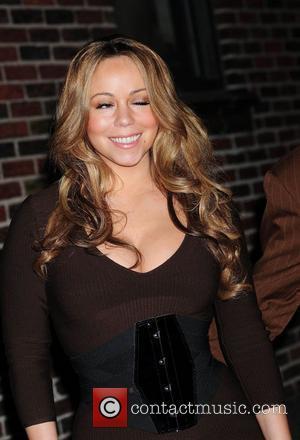 Mariah Carey and David Letterman
