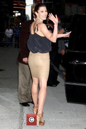 Jessica Biel outside Ed Sullivan Theatre for the 'Late Show With David Letterman' New York City, USA - 03.06.09