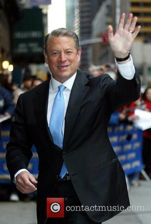 Al Gore and David Letterman
