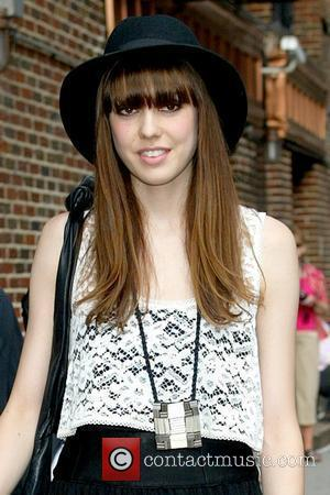 Diane Birch outside the Ed Sullivan Theatre for the 'Late Show With David Letterman' New York City, USA - 22.07.09