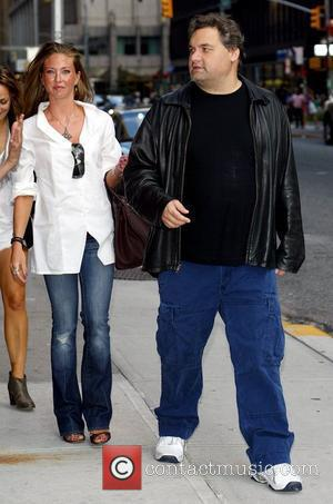 Artie Lange outside Ed Sullivan Theatre for the 'Late Show With David Letterman' New York City, USA - 24.08.09