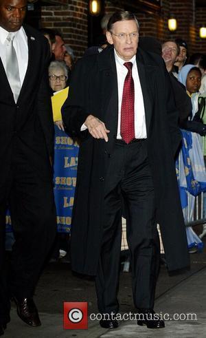 Bud Selig and David Letterman