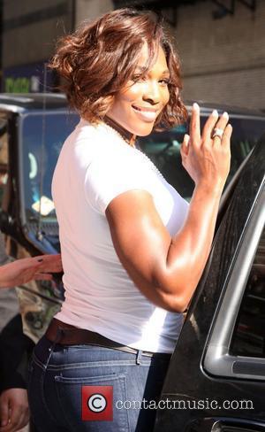 Serena Williams, David Letterman and Ed Sullivan Theatre