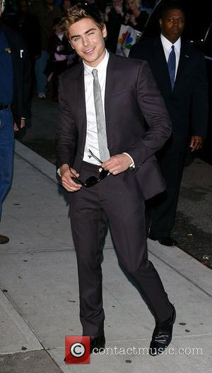 David Letterman, Zac Efron, Ed Sullivan Theatre