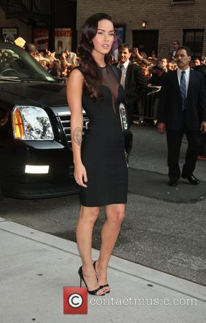 Megan Fox, David Letterman