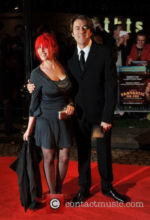 Jane Goldman and Jonathan Ross The Times BFI London Film Festival: Fantastic Mr Fox - opening gala held at the...